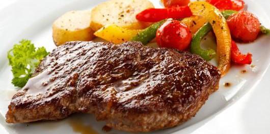 steak mit foliengem se und kartoffeln fitness k che. Black Bedroom Furniture Sets. Home Design Ideas